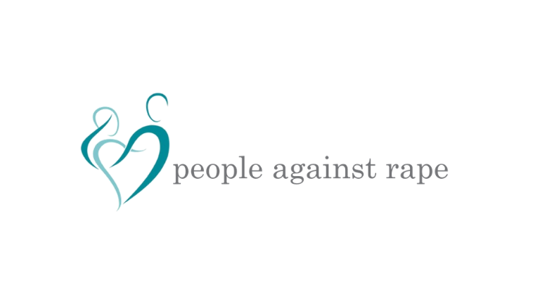 People Against Rape logo