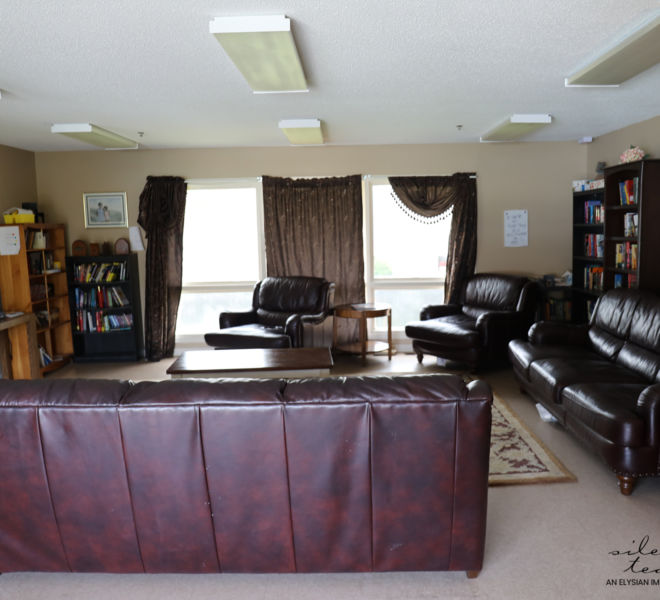 SAFE Homes Rape Crisis Coalition- living room area