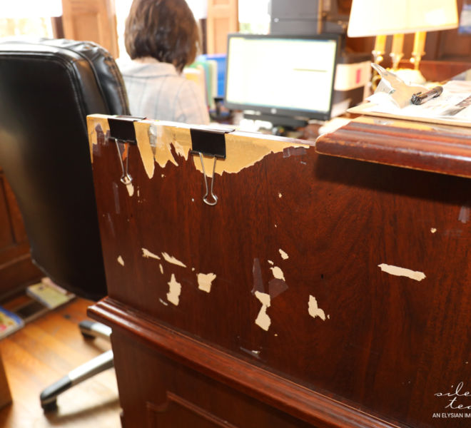 Children's Advocacy Center- Damaged Desk