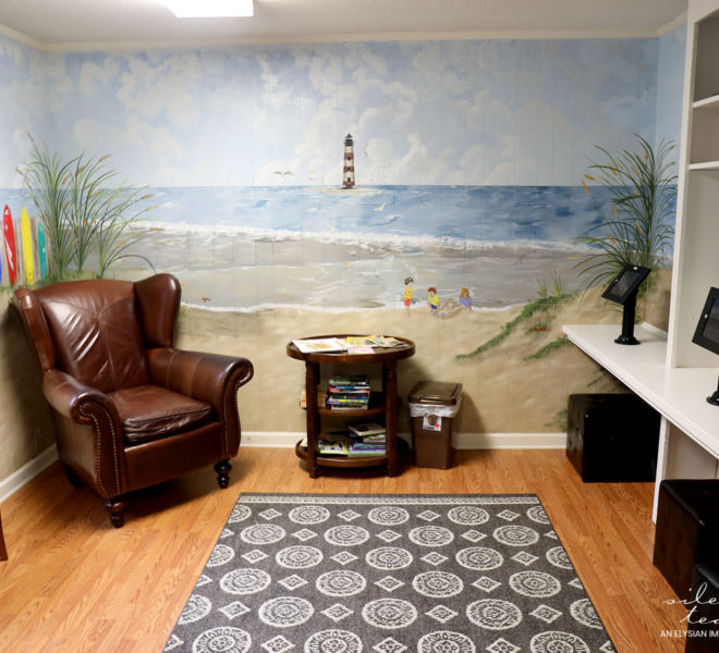 Dorchester Children's Advocacy Center- Waiting area