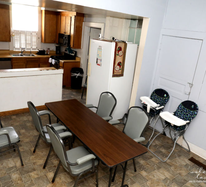 YWCA- Kitchen/Dining Area