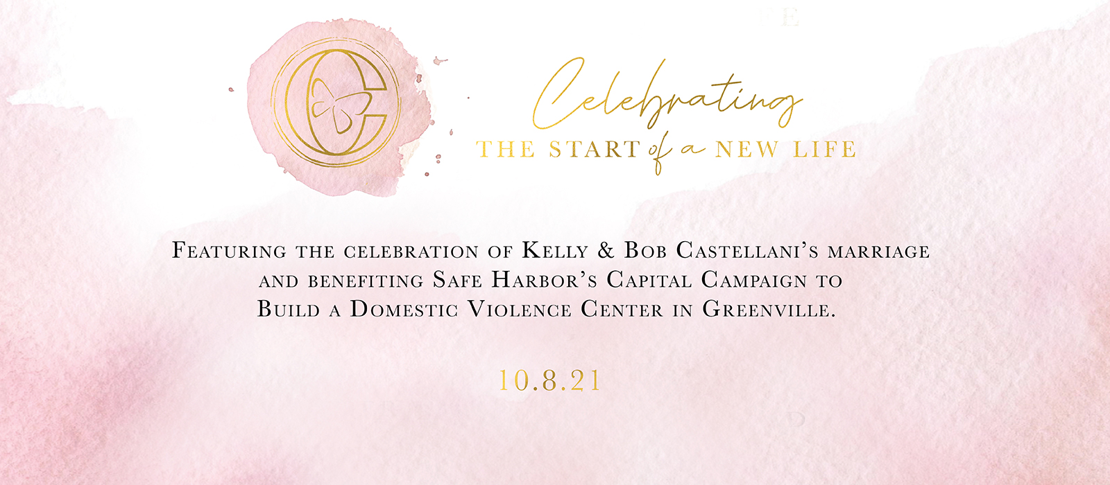 The Start of a New Life Fundraiser banner